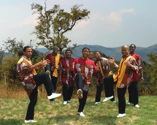 South African male choral group