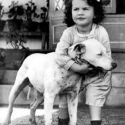 Vivien Leigh in her childhood