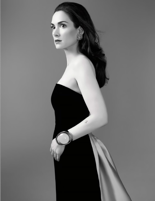 Well known Winona Ryder