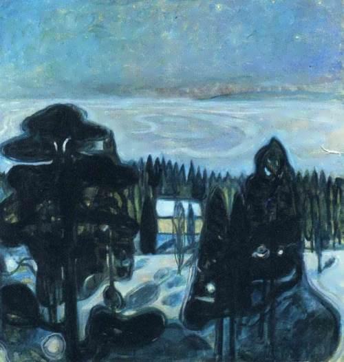 White night, 1901