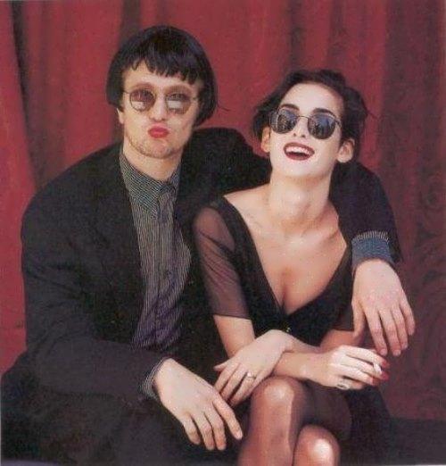Winona and Gary Oldman