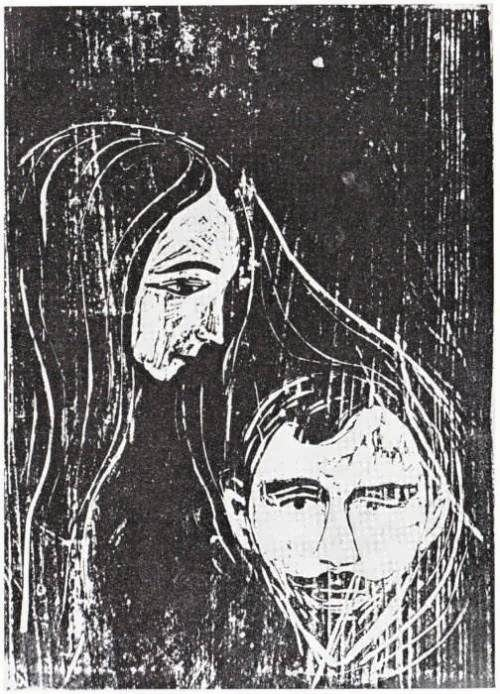 Woman and man, 1896