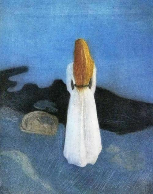 Young woman on the shore, 1896