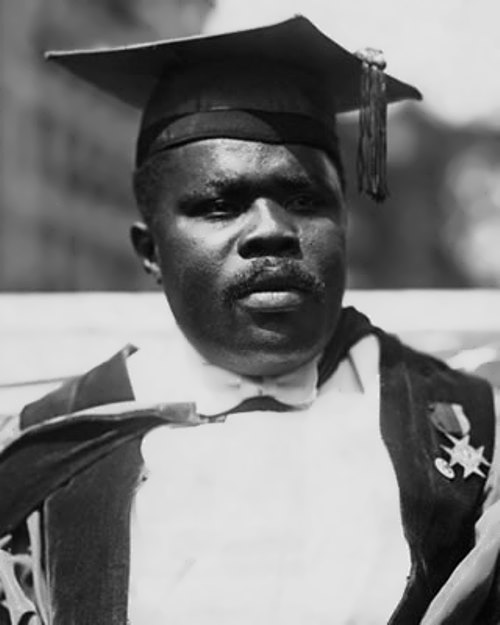 Famed Marcus Garvey