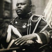 Garvey - the leader of the worldwide movement for the rights of blacks