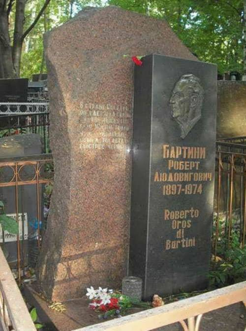Grave of Robert Bartini