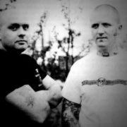 Ian with Kevin Turner of Skullhead