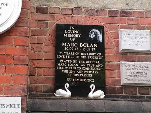 In loving memory of Marc Bolan