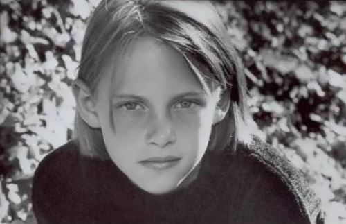 Kristen in her childhood
