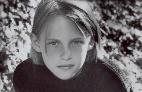 Kristen in her childhood