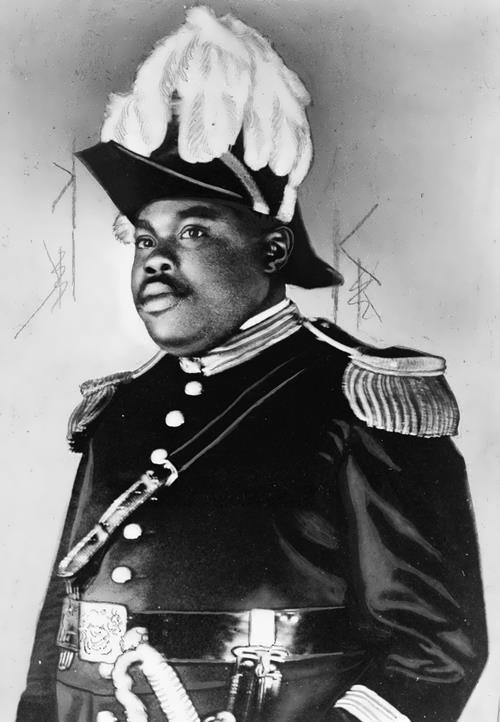 Marcus Garvey – black leader