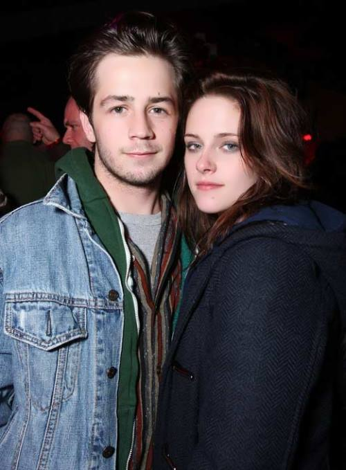 Michael Angarano and Kristen Stewart