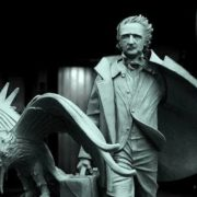 Monument to the writer Edgar Poe