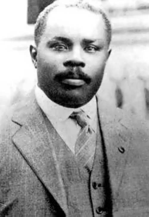 Respected Marcus Garvey