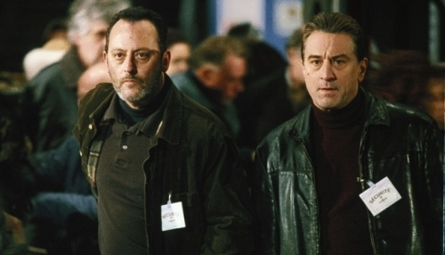 Robert De Niro and Jean Reno