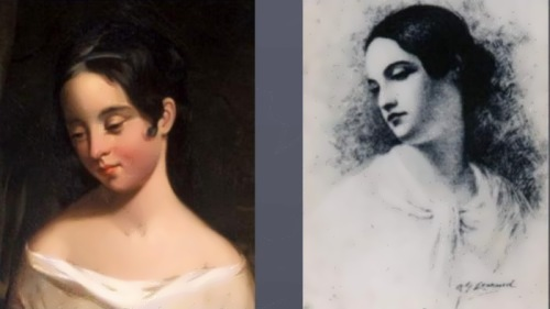 Virginia Clemm - cousin and wife of Edgar Allan Poe