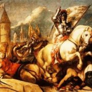 William Etty. Siege of Orleans