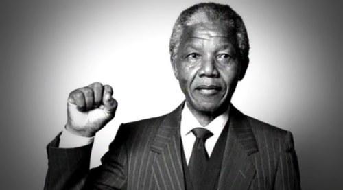 Celebrated Nelson Mandela