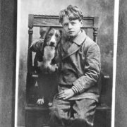 Charles Lindbergh in his childhood