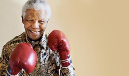 Famous Nelson Mandela