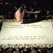 Grave of Charles Lindbergh