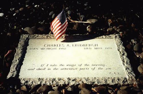 Grave of Charles Lindbergh