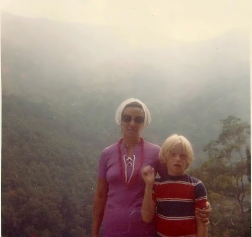 In the Smokies, August 1972