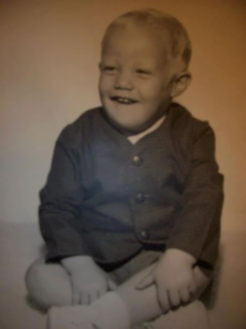 Jani Lane in his childhood