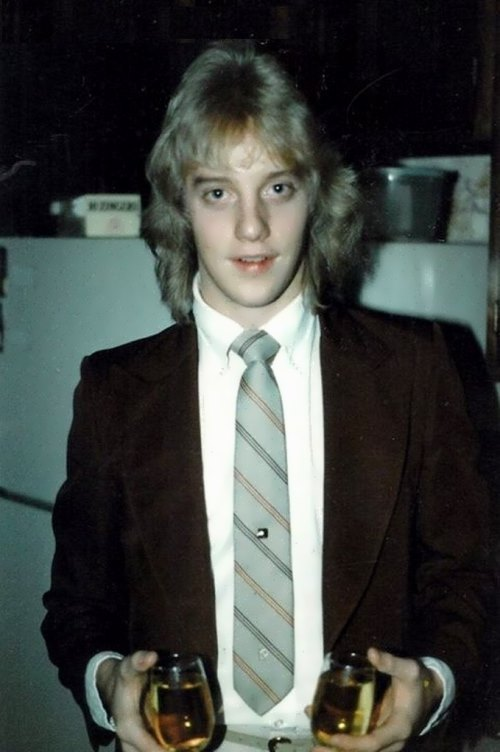 Jani Lane in his youth