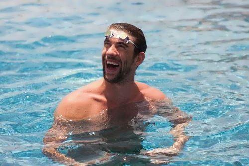 Legendary Michael Phelps