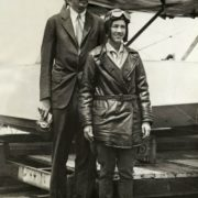Lindberg and his wife