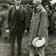 Lindbergh is in talks with the Mayor of St. Louis, 1927