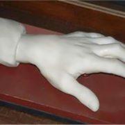 Liszt's hand