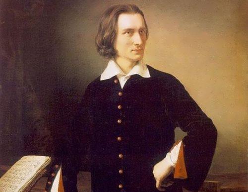 M. Barabash. Portrait of Franz Liszt, 1847