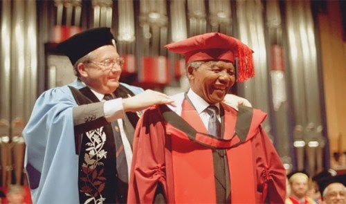 Mandela had 50 honorary titles, and he became the last person to be awarded the Lenin Prize