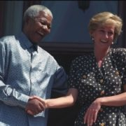 Princess Diana and Nelson Mandela