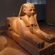 Queen Hatshepsut as Sphinx, Metropolitan Museum