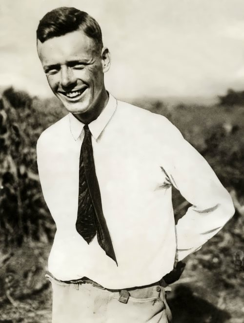 Smiling Lindbergh, 1923