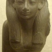 Statue of Hatshepsut in the Boston Museum of Fine Arts