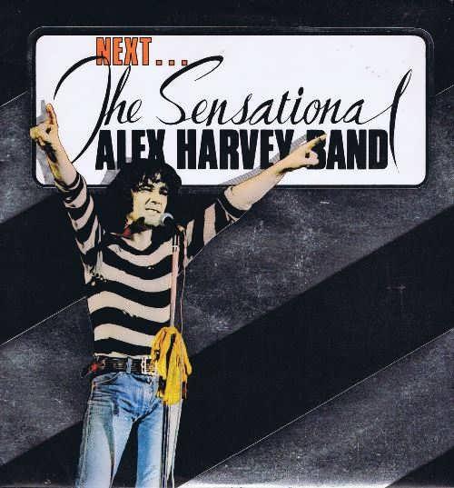 The Sensational Alex Harvey Band Next. LP Vinyl Record