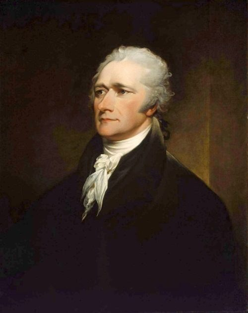 Alexander Hamilton - first U.S. treasury secretary