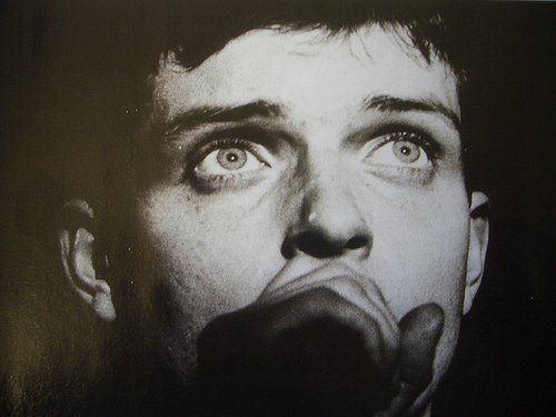 Attractive Ian Curtis