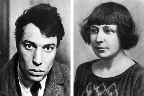 Boris Pasternak and Marina Tsvetayeva