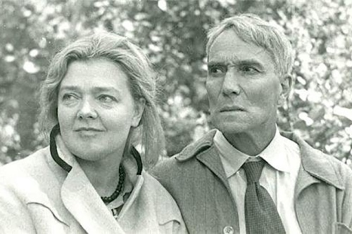 Boris Pasternak and Olga Ivinskaya