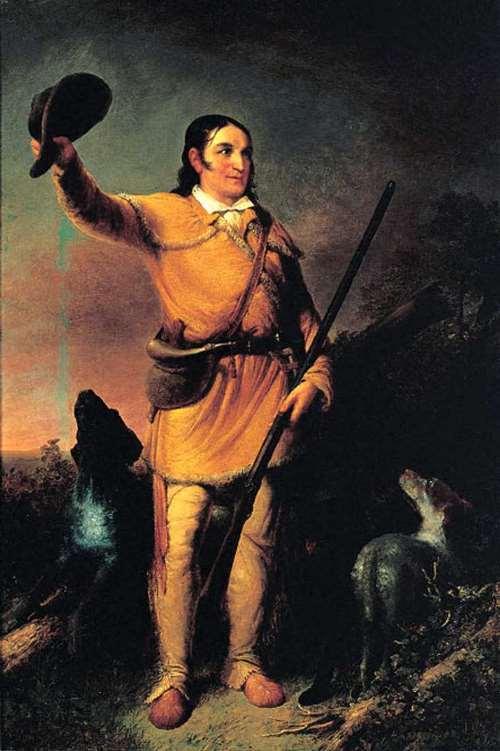Davy Crockett - symbol of the American spirit