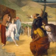 Edgar Degas. Alexander and Bucephalus