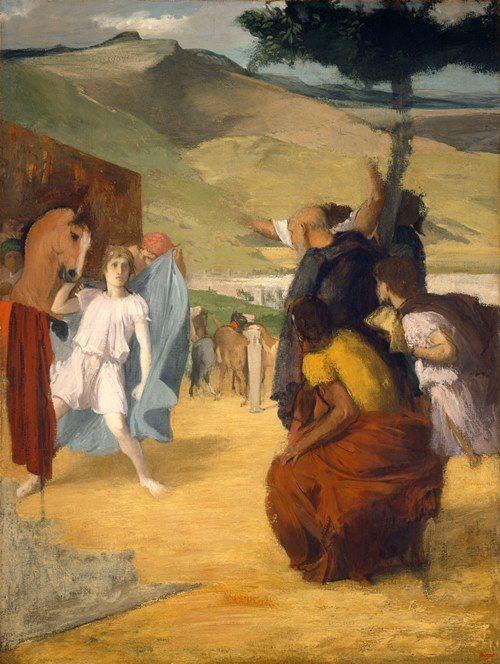 Edgar Degas. Alexander and Bucephalus