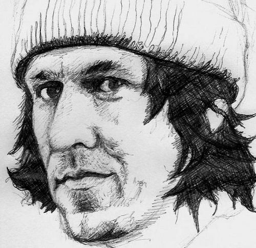 Fan art dedicated to Elliott Smith