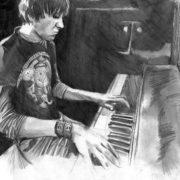 Fan art dedicated to Elliott Smith