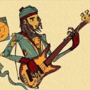 Fan art. Jaco Pastorius